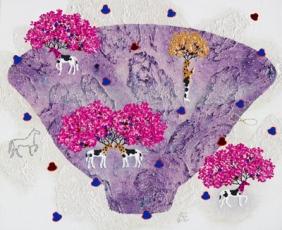 Cosmos-Archaeological Weather map_73cmx53cm_acrylic on Canvas_2011-2.jpg