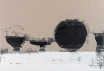 Happy wait  116.7× 80.9㎝,  Acrylic on canvas, 2015.jpg