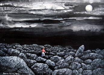 In my  dream 4, 65.1x90.9cm,_Acrylic on Canvas, 2016, USD 4,500.JPG