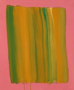 Yellow Veil on the Pink.72.7cmx60,6cm.acrylic on canvas.USD3,600.jpg