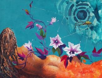 Coexistence (A Midsummer Nigth's Dream) 40.9x 53.0cm, Acrylic on canvas, 2015, USD 1,330.jpg