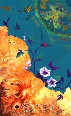 Coexistence (Buttefly) 116.8x 72.7cm, Acrylic on canvas, 2015, USD 6,660.jpg