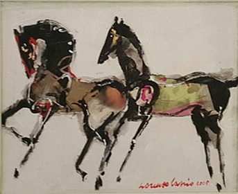 Cavalli(Horses)_24x30cm_Mixed Media on Canvas_2005.jpg