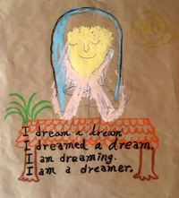 I dream a dream_67×64cm_oilbar, oilpastel on paper_2016.jpg