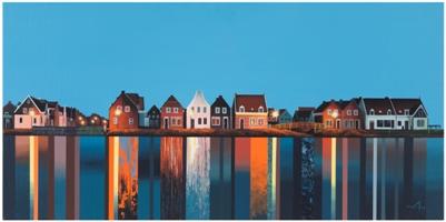 City-Compoition  90.0x45.0cm   Acrylic on Canvas 2015.jpg