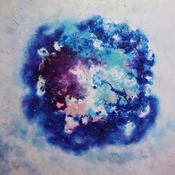 [ White hole1 ] Acrylic on canvas 91.0cmx91.0cm(50S) 2016  KRW 2,500,000.JPG