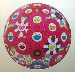 Murakami Takashi_Red Flower Ball, 70cmØ, Printed on Paper, 2014.jpg
