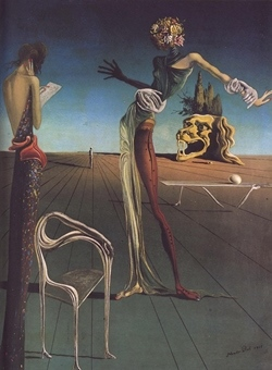 Salvador Dali _Woman with a head of roses_Litography.jpg