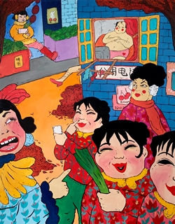 The Adventure of Dama Wang No.2, 122x91cm, Acrylic on Canvas, 2018.JPG